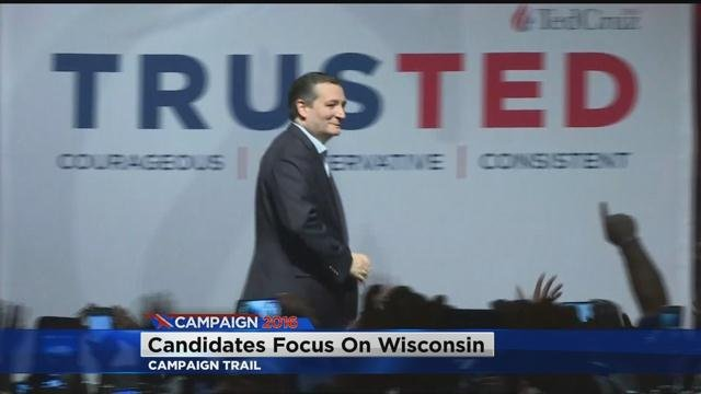 Ted Cruz sweeps through Wisconsin before primary