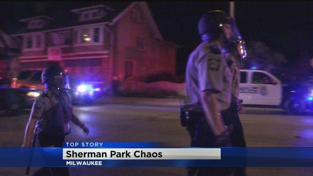 MPD Responds to Large Gathering at Sherman Park Wednesday Night