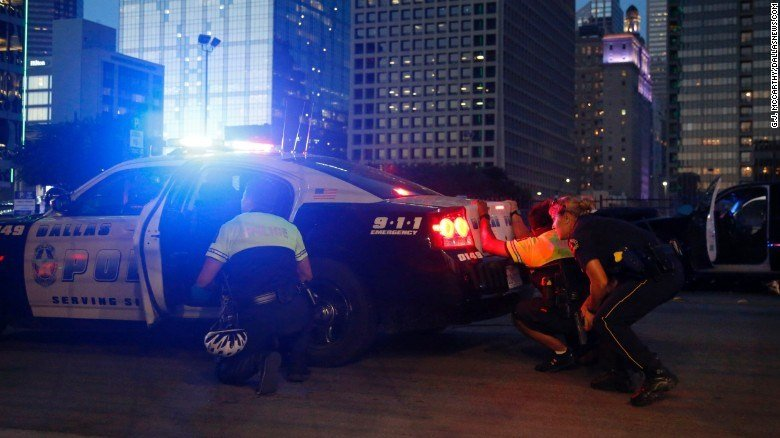 Female Police Officer Injured in Dallas Shooting is from Wisconsin