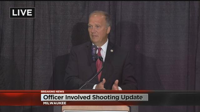 Gov. Walker on body cam video from officer-involved shooting