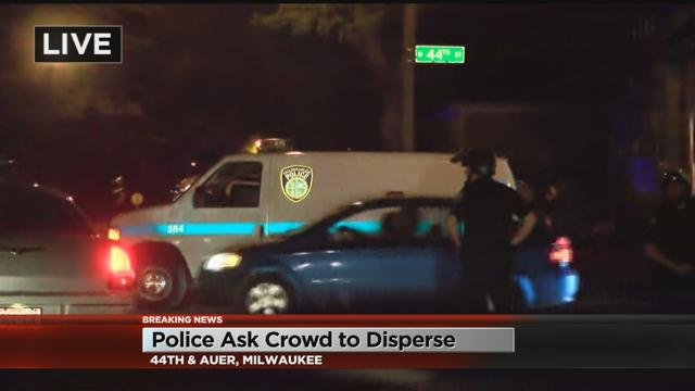 Arrests made near scene of Milwaukee police shooting