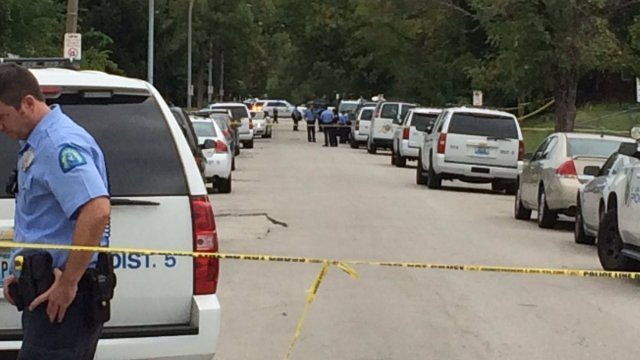 Louis police say 14-year-old wounded in police shooting