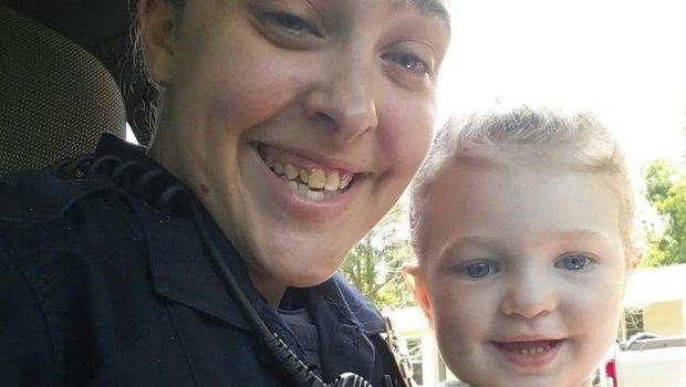 2 officers on leave after girl's car death; 1 is girl's mother