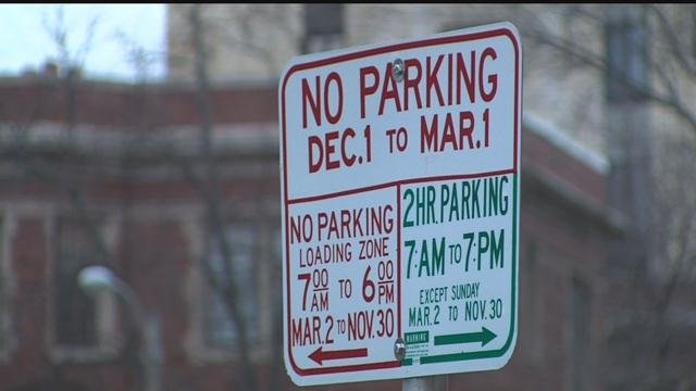 Overnight winter parking ban begins Thursday