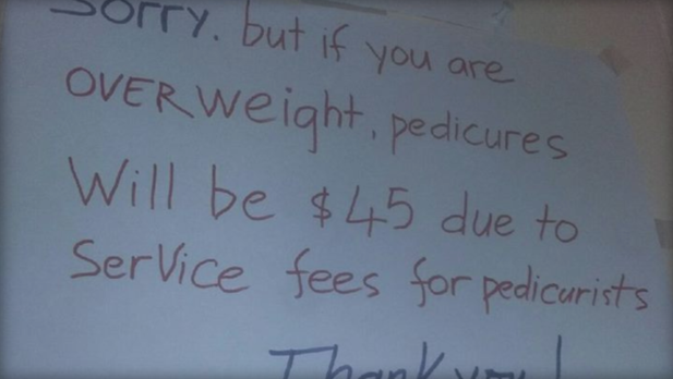 Nail Salon Accused of Charging Overweight Customers More (Yes, Really)