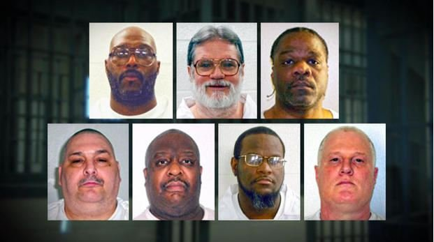 2 inmates seek execution stays from Arkansas high court