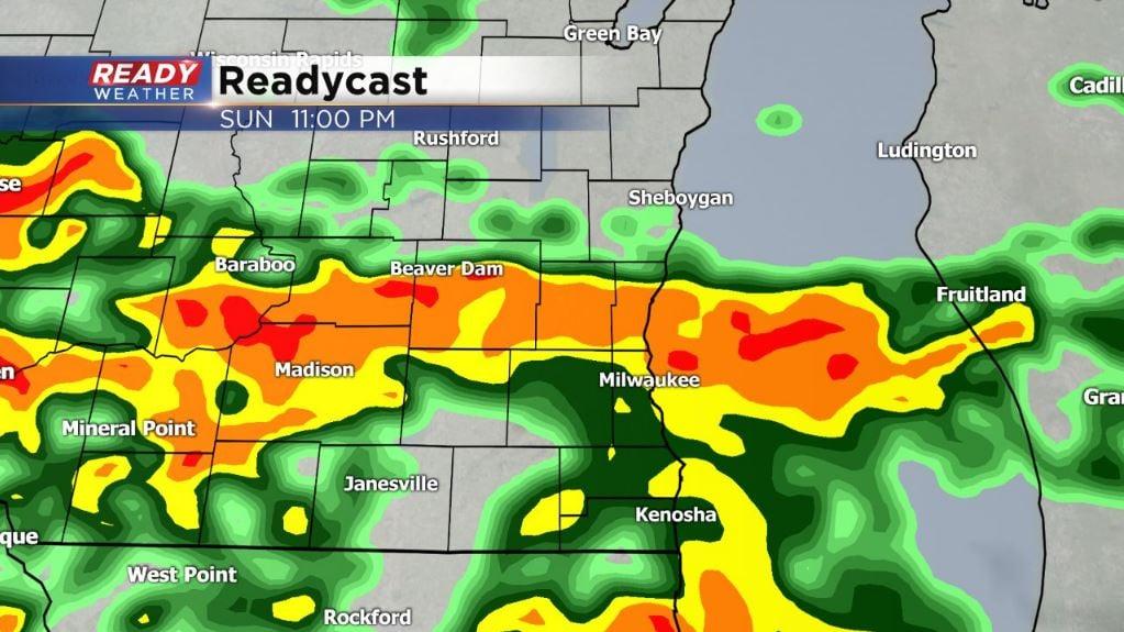 Heavy rains bring flash floods, flood warnings downstate
