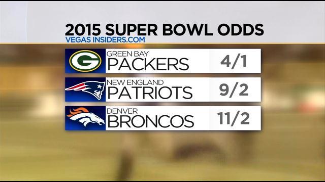 las vegas odds to win super bowl 2015