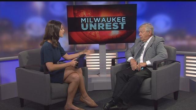 CBS 58 - Alderman Witowski Addresses the Weekend's Violence