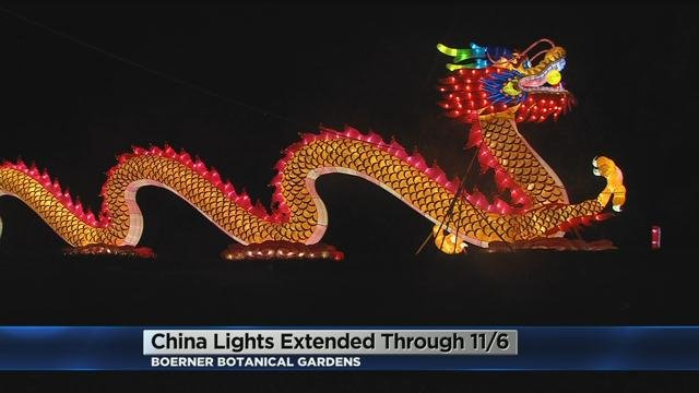 Cbs 58 China Lights Exhibit Extended Until November 6th At The Boerner
