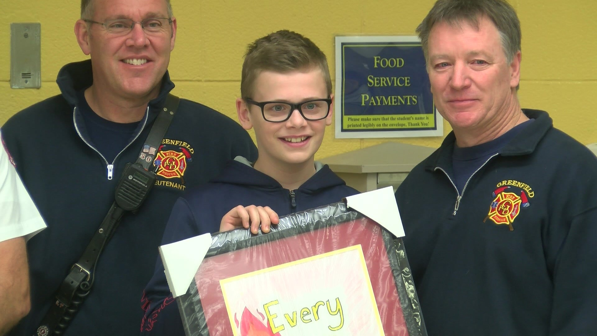 cbs local th grader wins statewide award in fire prevention local 6th grader wins statewide award in fire prevention contest