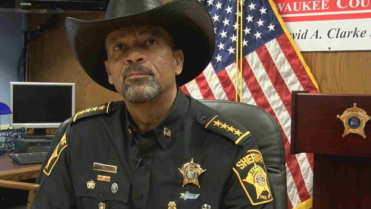 Image result for Milwaukee County Sheriff David Clarke