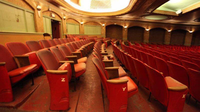CBS 58 Vintage Movie Theater Seats For Sale