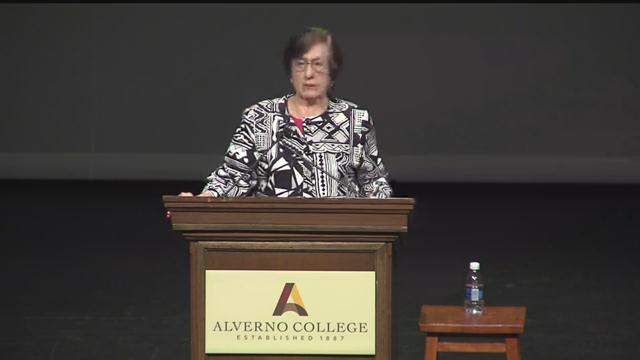 Holocaust Survivor Agnes Schwartz