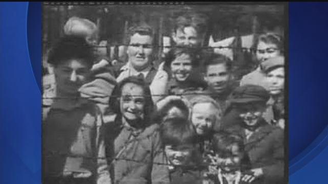 historic photograph from Bergen Belsen Concentration Camp